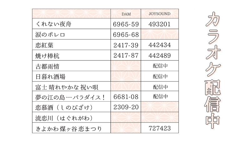恋川いろは、春蝶のリリース曲 カラオケ配信中!
